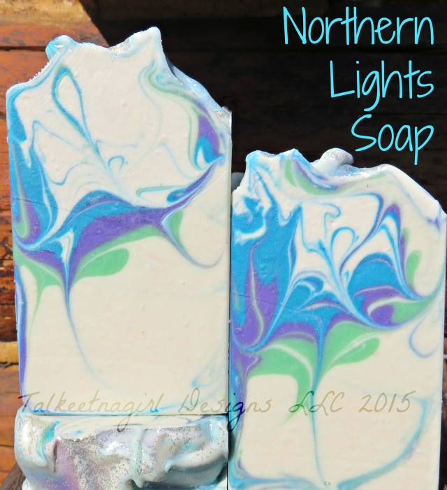 northern lights soap 4.24.15