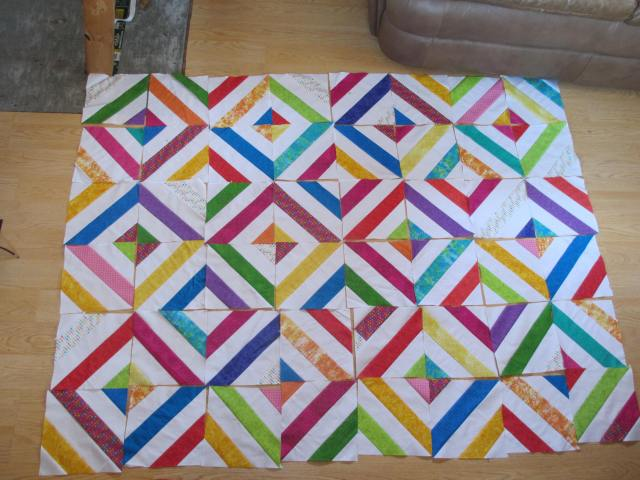 in the park quilt