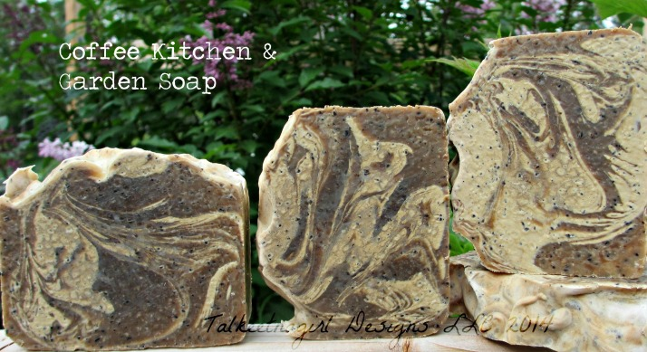coffee kitchen & garden soap II