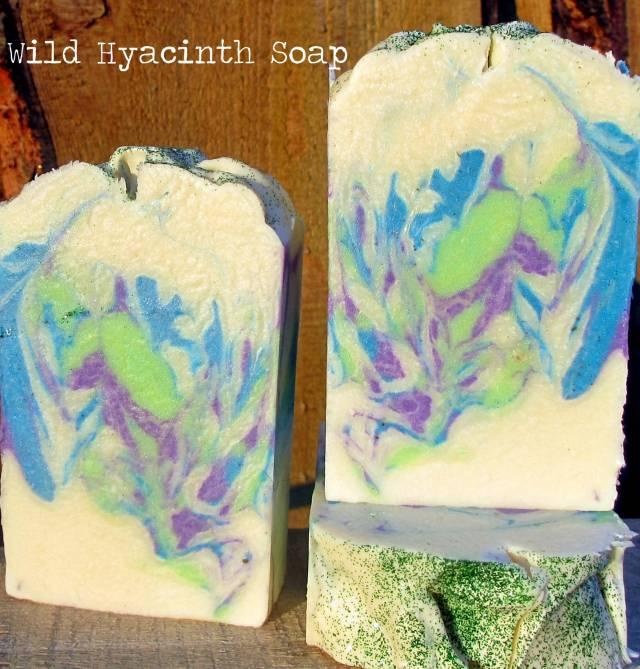 wild hyacinth soap