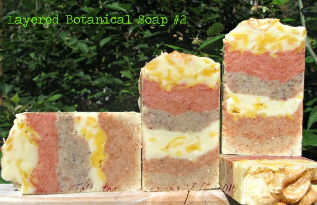 layered botanicals soap #2